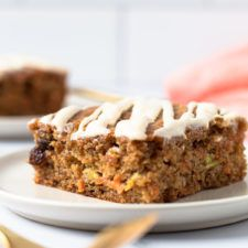 These Healthy Carrot Zucchini Bars are so easy to make, are a nutrient-dense snack and made without any refined sugars! They're gluten-free but nobody will know it! Make these now for the perfect way to use up any excess garden veggies! Gluten Free Pumpkin, Gluten Free Baking, Veggie Bars, Zucchini Bars, Baked Pumpkin Oatmeal, Dairy Free Cream, Homemade Pumpkin Puree, Coconut Flour, Oat Flour