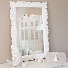 Specchio bianco Faustine