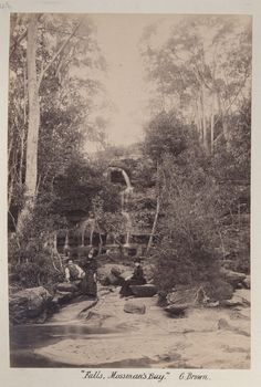 I lived right there, played in the little streams and pools every afternoon and weekend Falls at Mossman's Bay (Mosman) in Country Home Exteriors, Country Homes, Old Photos, Vintage Photos, Sydney Area, Historical Images, North Shore, South Wales, Pools