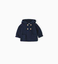 Hooded cardigan-NEW IN-MINI | 0-12 months-KIDS | ZARA Netherlands
