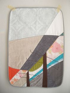I love that this is a beautiful abstract, patchwork picture.    (kds:  love shapes, variety of sizes)