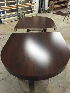 Oval 2 piece Dining top custom poker table