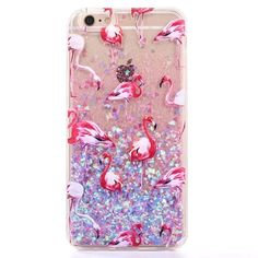 New Fashion Liquid Glitter meteor sand sequins Colorful Dynamic Transparent Hard Mobile Phone Cases For iphone4s/5 SE/6 6s/7Plus