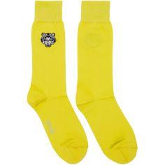 KENZO Yellow Tiger Socks. #kenzo #