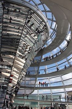 Reichstag, Berlin, Germany (via Glass and steel, a photo from Berlin, East | TrekEarth)