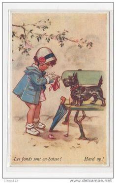 Cartes Postales > Thèmes > Illustrateurs & photographes > Illustrateurs - Signés > Bouret, Germaine - Delcampe.fr