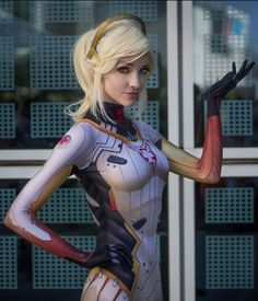 Lyz Brickley as Mercy (Overwatch)