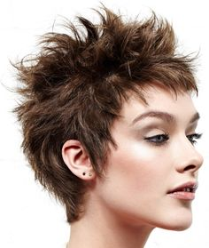 Short+Spiky+Hairstyles+for+Women…