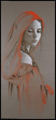 "Saatchi Art Artist Celeste Tseden; Painting, ""Gloria"" #art"