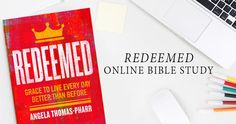 After Easter, #LifeWayWomen are inviting you to study Redeemed by Angela Thomas-Pharr with us online. We think this is the perfect follow up to the Easter season. Let's learn to live as redeemed women every day!