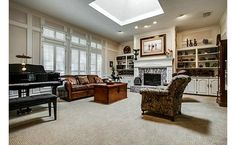 Living room skylight- changes the whole room