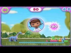 Disney's Doc McStuffins - Sparkly Ball Sports Tippy Tower Ball - YouTube