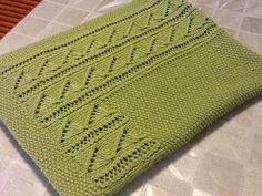 Baby Knitting Patterns, Knitting Stitches, Knitting Designs, Stitch Patterns, Manta Crochet, Knit Crochet, Dou Dou, Knitted Afghans, Crochet Baby Clothes