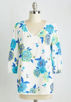 Rise and Dine Top From the Plus Size Fashion Community at www.VintageandCurvy.com