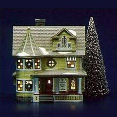 """Department 56: Products - """"Doctor's House"""" - View Lighted Buildings"""