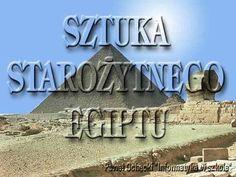 Zapraszam do wędrówki po zabytkach starożytnego Egiptu. Prezentacja ma na celu wprowadzenie do wiadomości o sztuce Egiptu oraz podsumowanie, powtórzenie.