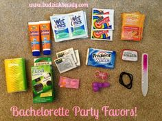 Bachelorette Party - Host a Girls Night Out Spa Party -- Click image for more details. Bachelorette Party Planning, Vegas Bachelorette, Bachelorette Gift Bags, Bff Gifts, Spa Party, Friend Wedding, Bridal Shower, Ray Bans, Safety Kit