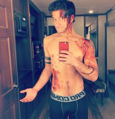 Tyler Posey - @i_love_harveys: This is my job.
