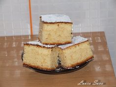 Prajitura cu branza dulce Romanian Desserts, Cheesecake Recipes, Mai, Vanilla Cake, Sweet Treats, Deserts, Sweets, Food, Gummi Candy