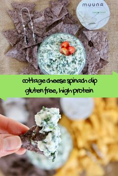 Cottage Cheese Spinach Dip + Creative Ways to Use Cottage Cheese @shawsimpleswaps
