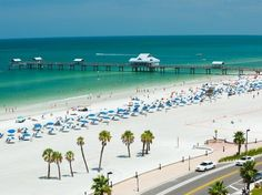 Saint Pete Beach, Florida  Sugary-white sand, dolphins frolicking just off shore and eight major barrier islands make St. Pete Beach a postcard-perfect seaside destination. This district contains many bars, restaurants and shopping popular with both tourists and locals.