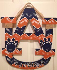Ready for some football? Auburn Game, Auburn Football, Auburn Tigers, Auburn Vs, Clemson, Wreaths For Sale, Fall Wreaths, Football Door Hangers, Auburn Alabama