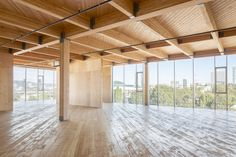 Estos son los ganadores del 2016 Wood Design Award,Comercial: Framework; Portland / Works Partnership Architecture. Imagen © Joshua Jay Elliot