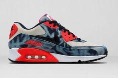 online retailer bde6d 3177f NIKE AIR MAX 90 QS (BLEACHED DENIM)   Sneaker Freaker Nike Free Shoes,