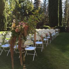 Empire Mine Wedding Grass Valley wedding, flowers by Little Boys Flowers | Farm to Table Catering : Catering + Coordination