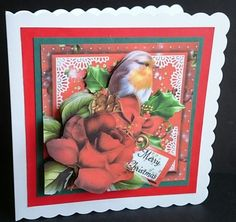 A Christmas Robin 4 on Craftsuprint - View Now!