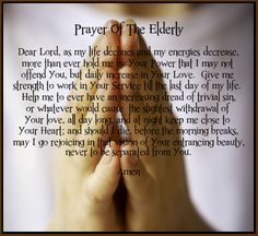 Prayer of The Elderly