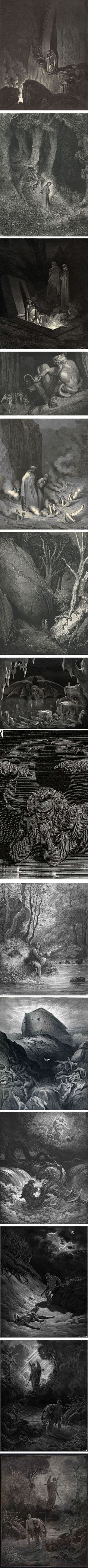 """Louis August Gustave Doré (also known as """"Paul"""" Gustave Doré for reasons of which I'm unsure) was French artist active in the early to mid 19th century. Though he also worked as a painter and sculptor, it is for his work as an illustrator and engraver that he is best known."""