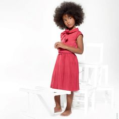 sassy  Lili Gaufrette  LUCIDITE raspberry skirt