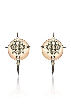 Inject a touch of luxury to your accessory collection this season with these Kismet earrings. Featuring diamonds in an elegant star formation, team with a relaxed up-do to highlight their beauty.   Diamonds Star Earrings by Kismet by Malkia. Accessories - Jewelry - Earrings - Statement Westchester County, New York