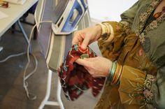 Suzi Click's class at the Grau Haus: Turn Your Textiles into Treasures