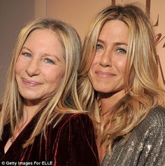 2011 - Barbra Streisand will celebrate her 70th birthday, yet recently she was pictured on the red carpet looking every bit as radiant as 42-year-old Jennifer Aniston