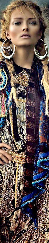 ❇Téa Tosh❇ 'Neo Folk' ~ Olga Maliouk by Signe Vilstrup for Glamour Italia ≫∙∙☮ Bohème Babe ☮∙∙≪• ❤️ Curated by Babz™ ✿ιиѕριяαтισи❀ #abbigliamento #bohojewelry #boho #Coachella