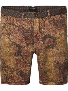 Paisley Print Shorts |Short pants|Men Clothing at Scotch & Soda