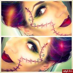 #halloween #make up #costume                                                                                                                                                                                 Mehr