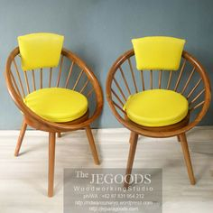 Detail of Circle retro chair by the Jegoods Woodworking Studio Indonesia.  We produced and manufacturing high quality furniture at factory price! http://jeparagoods.com
