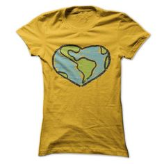 nice Earth in the heart  Check more at https://9tshirts.net/earth-in-the-heart/