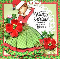 Merry Christmas with Julie Nutting, JustRite and Petaloo Time to rev up some holiday cheer and get that wish list started. I have a f...