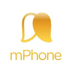 Mango Smartphone Logo Mango Logo, Ui Ux, Coffee Shop, Tacos, Smartphone, Design Inspiration, Graphics, Hair, Flowers