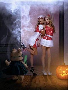 . Ronald Mcdonald, Ted, Cosplay, Costume, Halloween, Vintage, Cannabis, Fashion, Beautiful Women