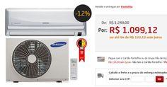 Ar-Condicionado Split Samsung Max Plus Frio 12.000 BTUs com Filtro Full HD e Virus Doctor << R$ 109912 em 9 vezes >>