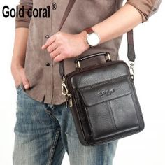 1cd27bbd35f2 Warenhuizen - Ali Express Natural Genuine leather handbags for men High  quality the First Layer cow skin messenger bags Fashion Casual shoulder bags  EUR ...