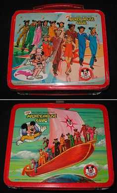 *MICKEY MOUSE CLUB ~ vintage lunchbox by bastet 2329