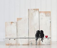 Anniversary Gift for Couples Gallery Wall Rustic Wood Sign Reclaimed Wood Art Love Bird Sign Wood Art Fifth Anniversary Engagement Gift Rustic Wood Signs Anniversary Art Bird Couples Engagement Gallery Gift Love reclaimed Rustic Sign Wall Wood Reclaimed Wood Signs, Wood Pallet Signs, Diy Wood Signs, Rustic Wood Signs, Rustic Wall Decor, Wood Anniversary Gift, Anniversary Gifts For Couples, Wedding Gifts For Couples, Gift Wedding