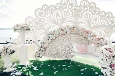 Фотозона Свадьбы Асель и Джорди   #elenayagudinawedding #ЕленаЯгудина http://elenayagudina.ru #Spanish fan