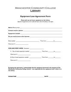 printable sample loan agreement form form - Loan Agreement Sample Letter
